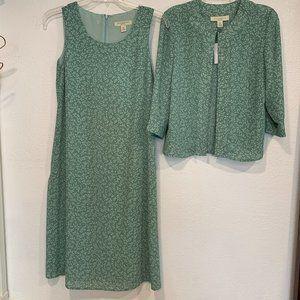 NWOT Appleseed's 2 Piece Dress Suit Petite Size 6P